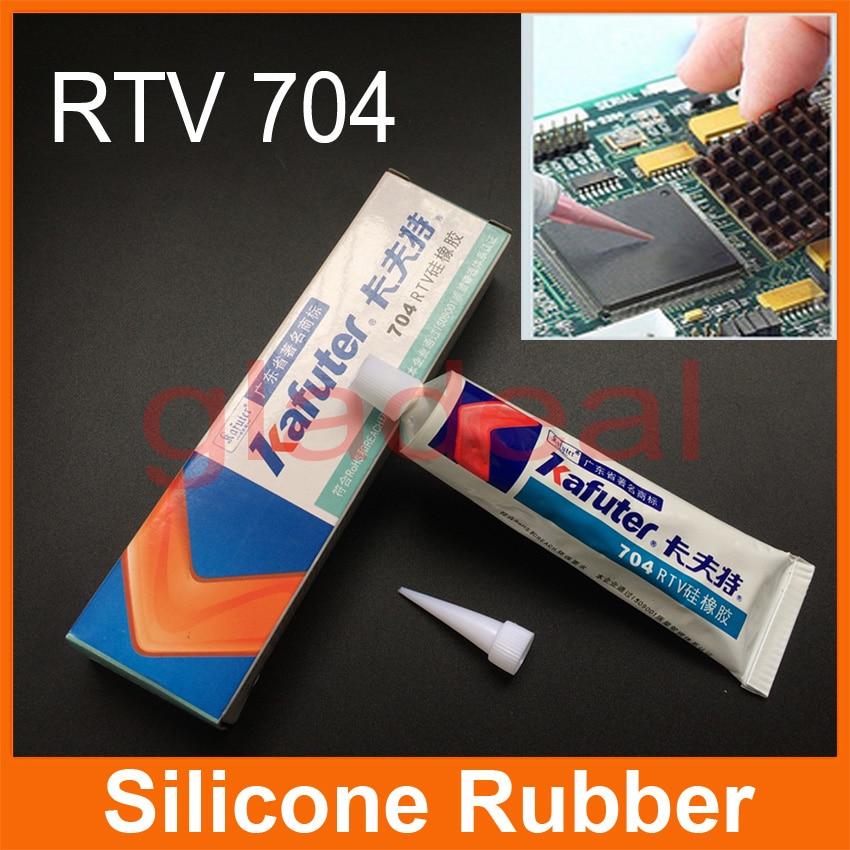 2pcs Multifunction RTV 704 Silicone Rubber For PCB Board Repair Stick Bathroom Ceramics Seal