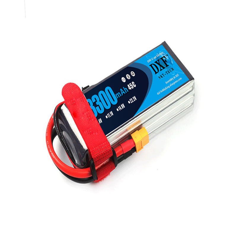 2017 DXF Lipo Battery 2S 7 4V 3300mAh 45C Max60C 2S1P For Helicopter RC Models Li