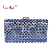 Fawziya Sparkling Evening Bag Bling Envelope Clutch Purse Rhinestone Crystal Evening Clutch Bags