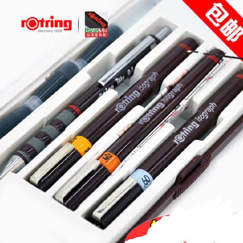 Germany Original rotring needle pen kit JUNIOR simple can be filled with ink classical drawing pen
