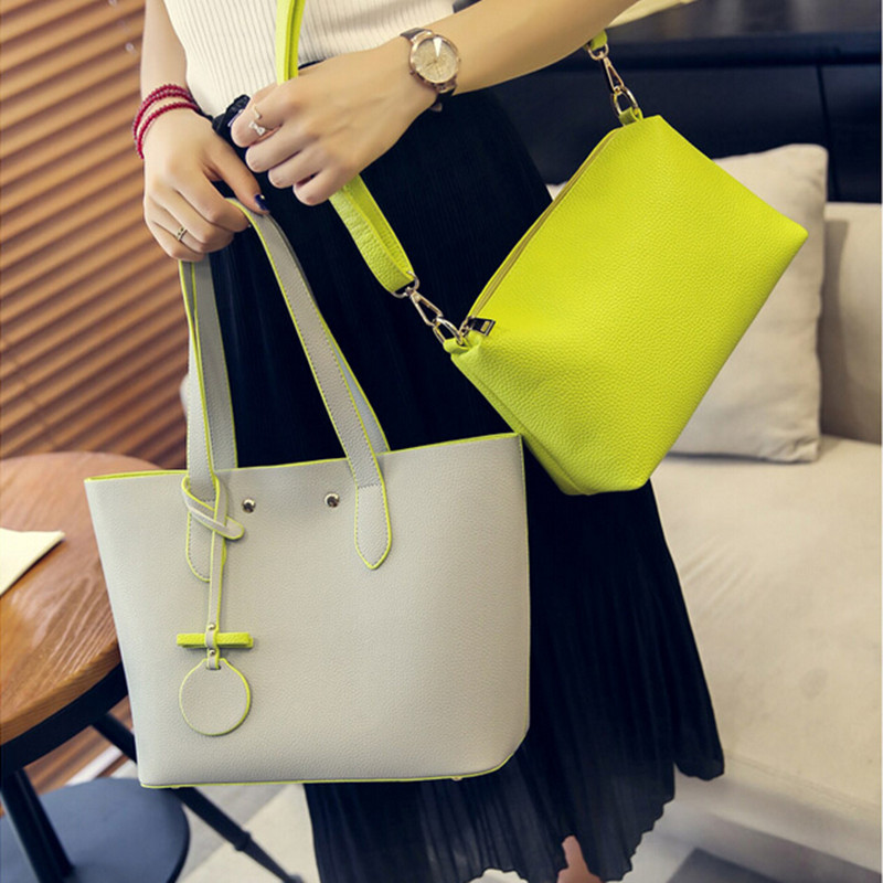 New Simple Fashion Famous Designers Brand Handbags High Quality PU Leather Women Shoulder Bag Large Capacity Shopping Tote Bags famous brand top quality dermis women bag new simple shoulder messenger bag fashion handbags tote bag women s handbags