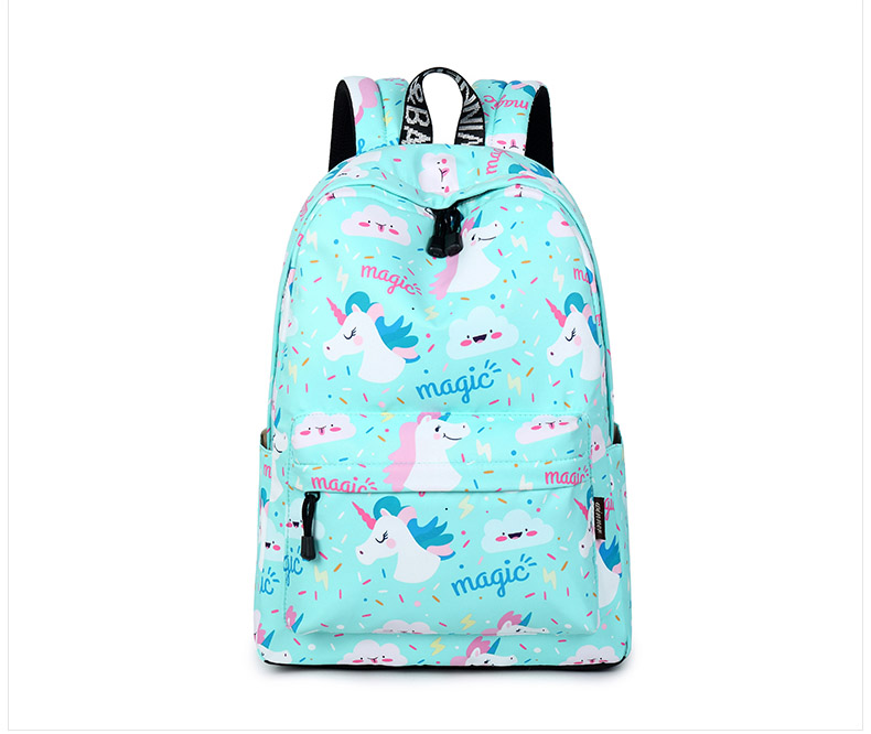 WINNER Women Backpack Unicorn Cute School Printing Backpack Bookbag School Bags For Teenage Girls Mochila Travel Softback (5)