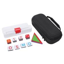 Bolsa de almacenamiento de Estuche de transporte de viaje para Osmo Genius Kit, funda protectora portátil para Osmo Gaming Series Kits, funda