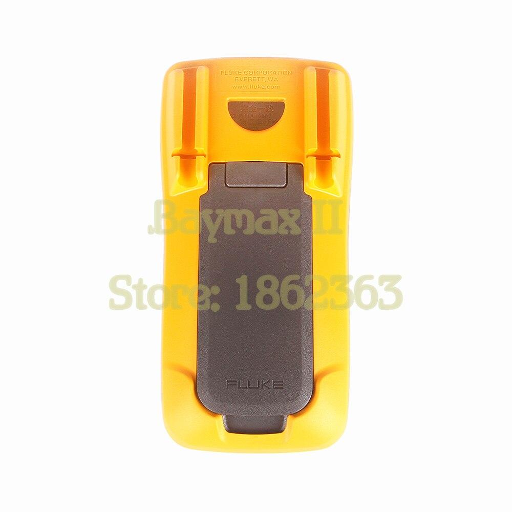 Multímetro Digital de rango Auto/Manual de Ohm con prueba LED de tensión CA/CC, corriente, capacitancia - 5
