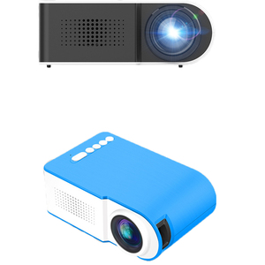 Image 5 - חדש YG210 בית מיקרו מקרן LED מיני מקרן נייד 1080 P HD