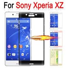 Для sony Xperia XZ закаленное стекло 3D полное покрытие экрана протектор для sony Xperia X Z F8332 F8331 F 8332 защитный чехол