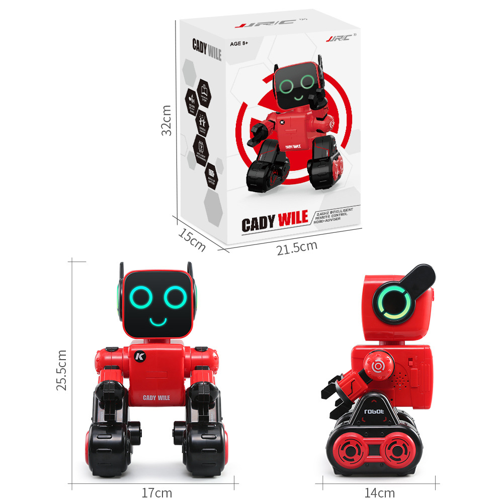 2018 boy&girl gift Innovative Smart remote control robot R4/K3 Cady Wile Robot Toy Intelligent Remote Control Robo-advisor Money