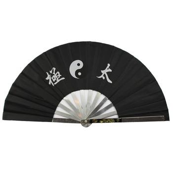 Taichi wentylator wushu wentylatora kungfu wentylator wushu materiał sztuki żelaza fanem ze stali nierdzewnej wentylator stalowy sztuki walki wentylator tanie i dobre opinie Płótno Szybkoschnący RUBBER Pasuje prawda na wymiar weź swój normalny rozmiar ccwushu