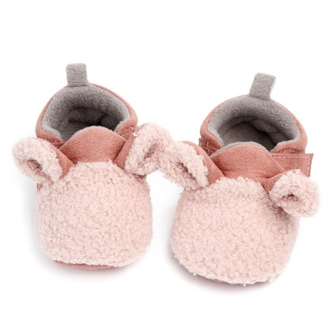 Autumn Winter Baby Shoes Coral Velvet Cartoon Baby Girl Shoes Home First Walkers Fashion Princess Baby Boys Girls Shoes 0-12M Multan
