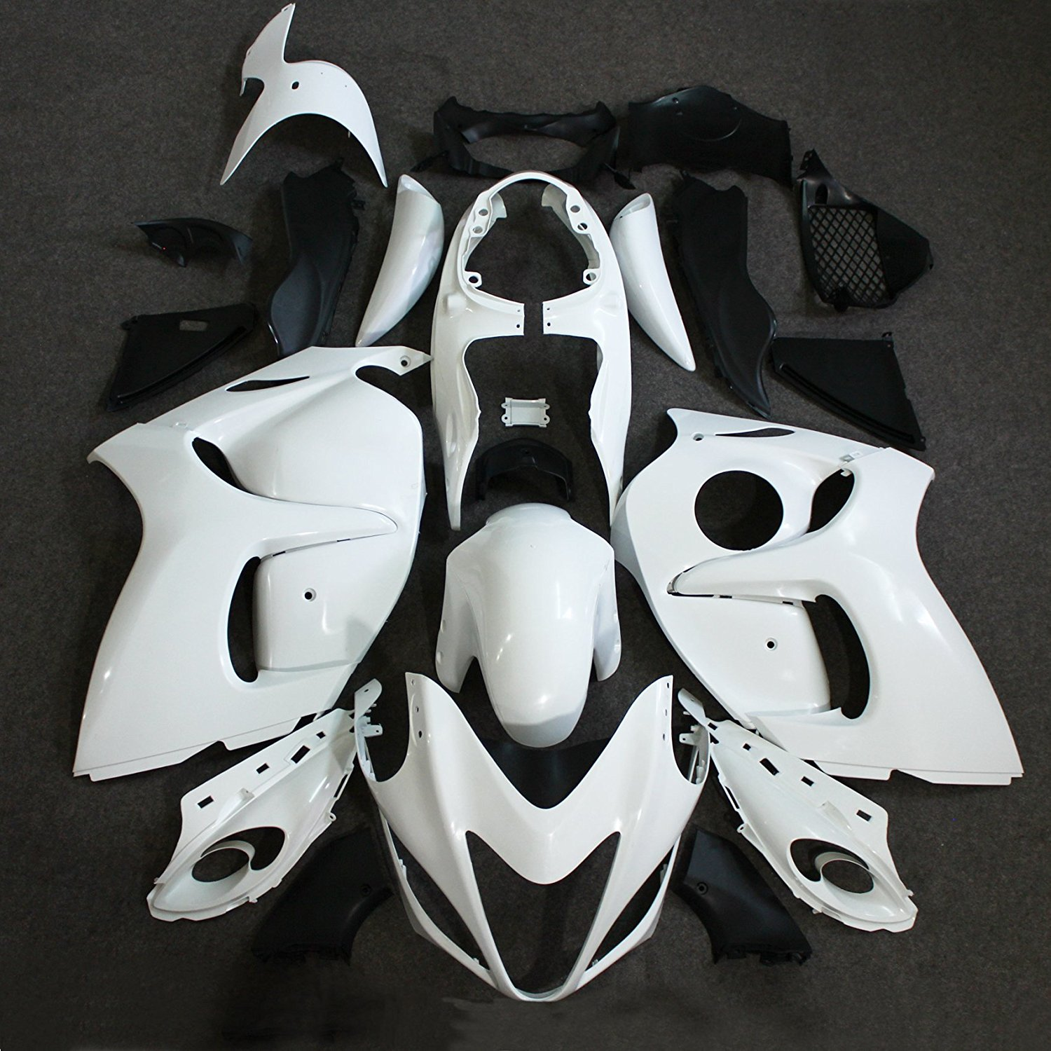 ABS Injection Molding Fairing Kit For Suzuki Hayabusa GSXR1300 GSX-R1300 2008 - 2013 09 10 11 12 GSXR 1300 Unpainted Fairings