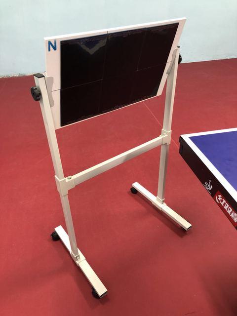 Ekuwa Professional Table Tennis Training Robot Fixed Rapid Rebound Ping Pong Ball Machine Trainer