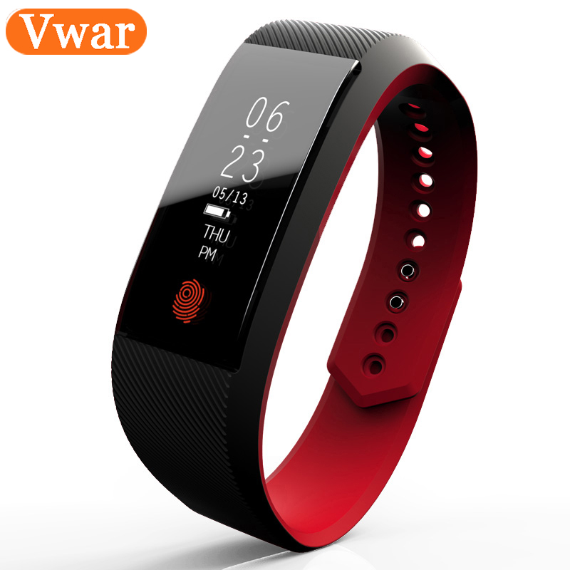 Vwar Smart Band W808S Bracelet watch Wristband Heart Rate Monitor 0 91 OLED Waterproof IP67 Smartband