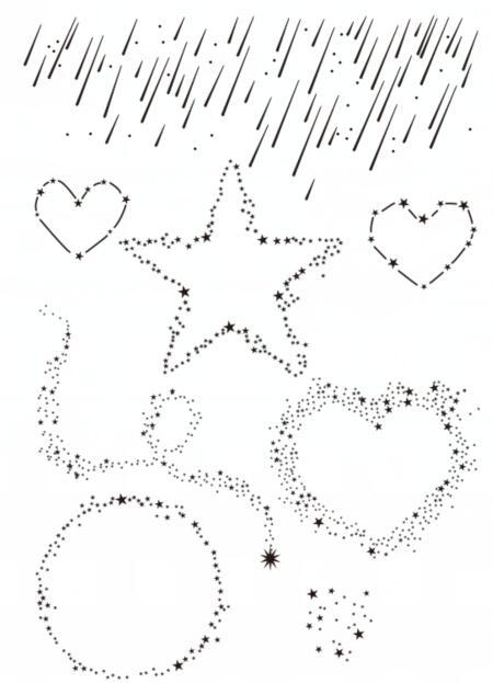 Метеоритный фона ясно Марки записки Бумага ремесло ясно штамп для скрапбукинга