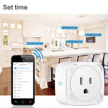 Buy BSD13 Smart Home Automation WiFi Voice Control Wireless Remote Socket Timer Fire Retardant PC Smart Power Socket US Plug directly from merchant!