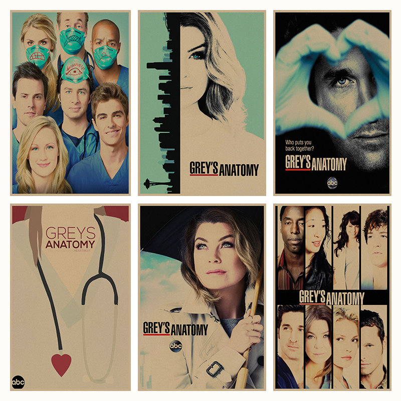 Poster Greys Anatomy Blink Morristowncab