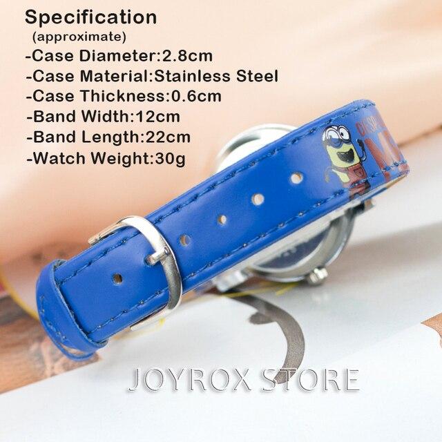 JOYROX Modello Per Bambini Vigilanza Del Fumetto Caldo Cinturino In Pelle 2018 Capretti di Modo Del Quarzo Orologio Da Polso Ragazzi Ragazze Studenti Orologio