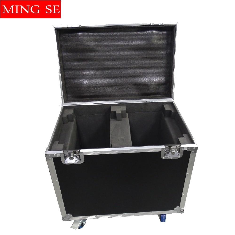 цена на Flight case for 2pcs 230W Beam 7r Light LED Moving Head Lightflat par only empty case