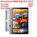 Tempered Glass For Lenovo YOGA Tab 3 8.0 10 10.1 X50F X50M Plus Pro X90F YT3 850F 850M YT3-850F Screen Protector Protective Film