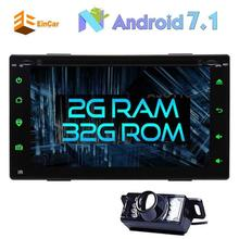 "Back Camera+Android 7.1 Car Stereo 2Din 6.2"" Car DVD Player In Dash GPS Navigation Bluetooth Steering Wheel/OBD2/WiFi/FM Radio"