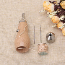 Professional Sewing Awl Tool Kit for Leather Sail & Canvas Heavy Repair Speedy Stitcher Sewing Tool