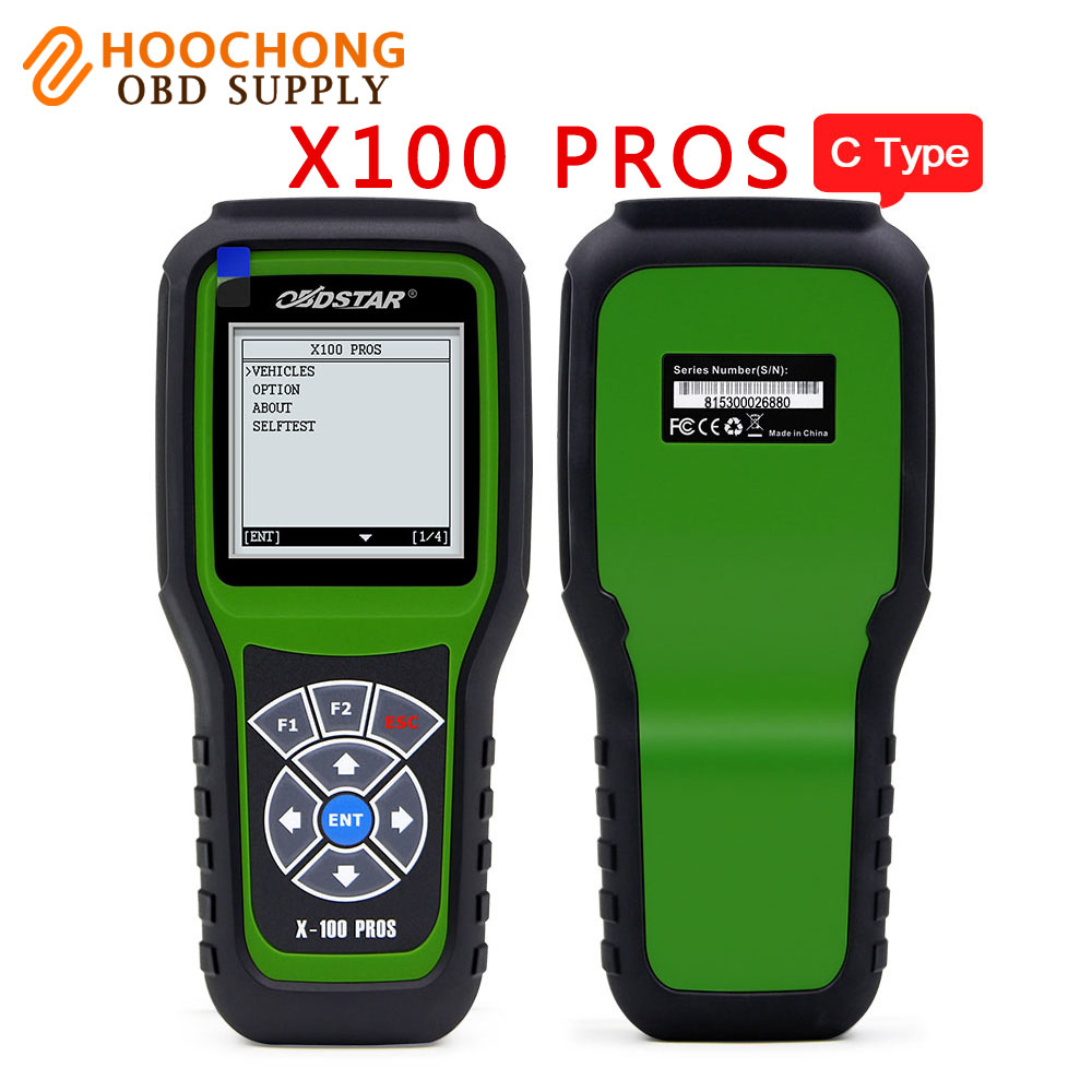 OBDStar X100 PROS Auto Key Programmer C Type IMMOBILISER OBD software with EEPROM Adapter Update online