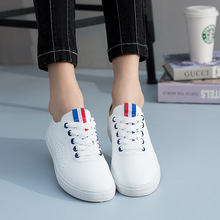 Plus Size 2017 Ballet Summer Cut Out Women Genuine pu Leather sport Shoes Woman Flat Flexible Round Toe Nurse Loafer running