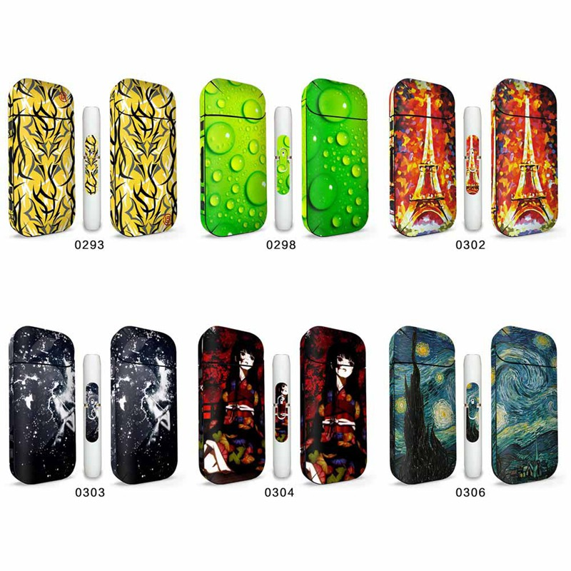 Cool Design Protective Sticker Skin Cover Sleeve Sticker  Hot Sale Decal Sticker For IQOS 2.4 Plus