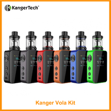 In Stock Original Kanger Vola Kit Output 100W Built-in 2000mAh With 4ML Vola Tank VW/Ni/Ti/SS/TCR Mode E-Cigarette цена
