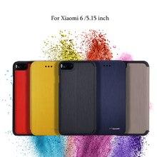Tacase бренд для xiaomi 6 case ми-6 мобильный телефон кожаный защитный рукав для xiaomi 6 ми-6 case флип case 5.15 дюймов.