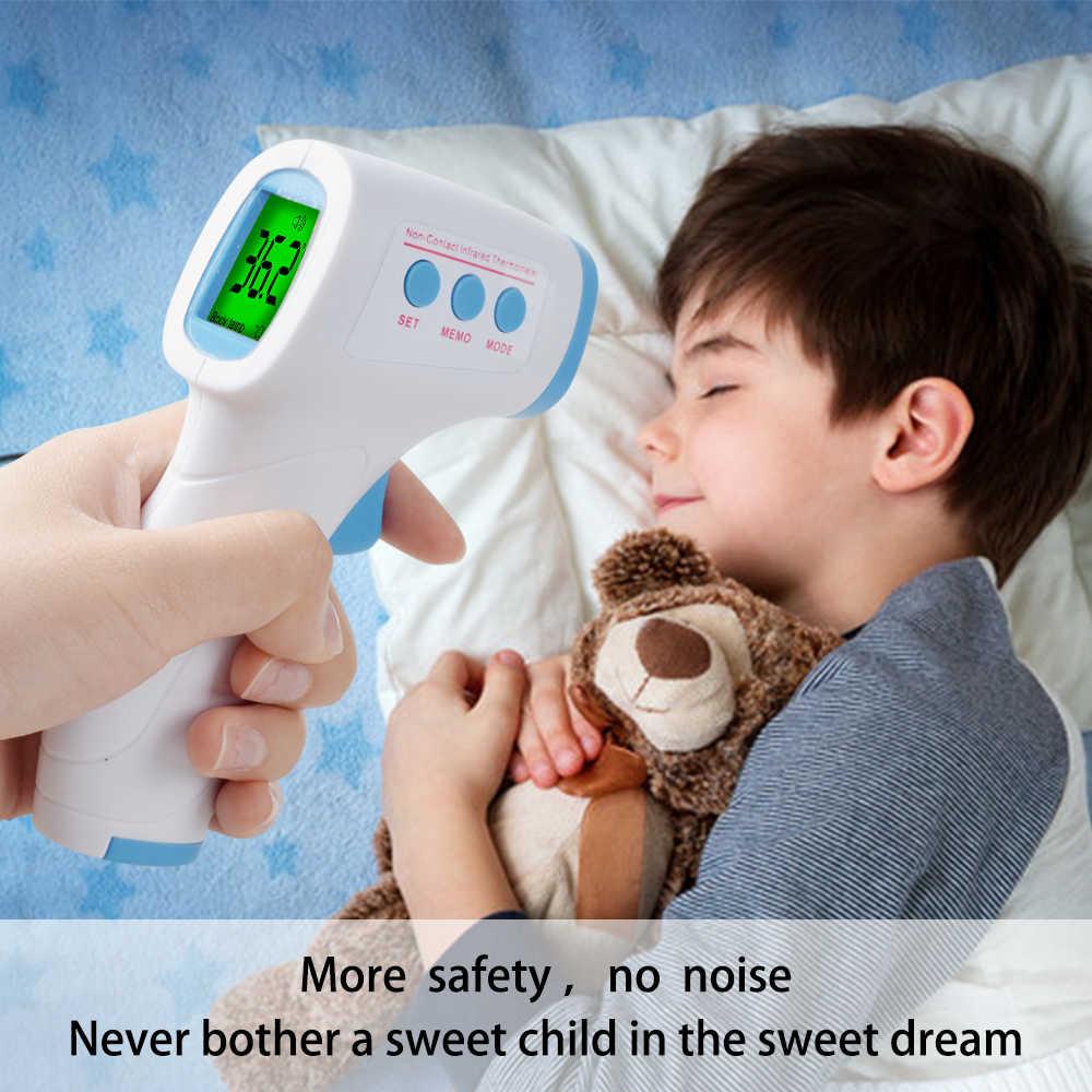 ENVN Del Bambino Termometro Digitale Temperatura Del Corpo Febbre Misura Fronte Senza Contatto LCD Infrarossi IR Termometro Del Bambino e Adulto
