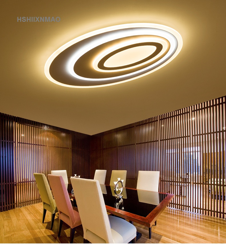 Simple Modern Living Room Lights Oval Creative Hall Home Ceiling Lamps  Personalized Led Master Bedroom Lights Ceiling Lights In Chandeliers From  Lights ...