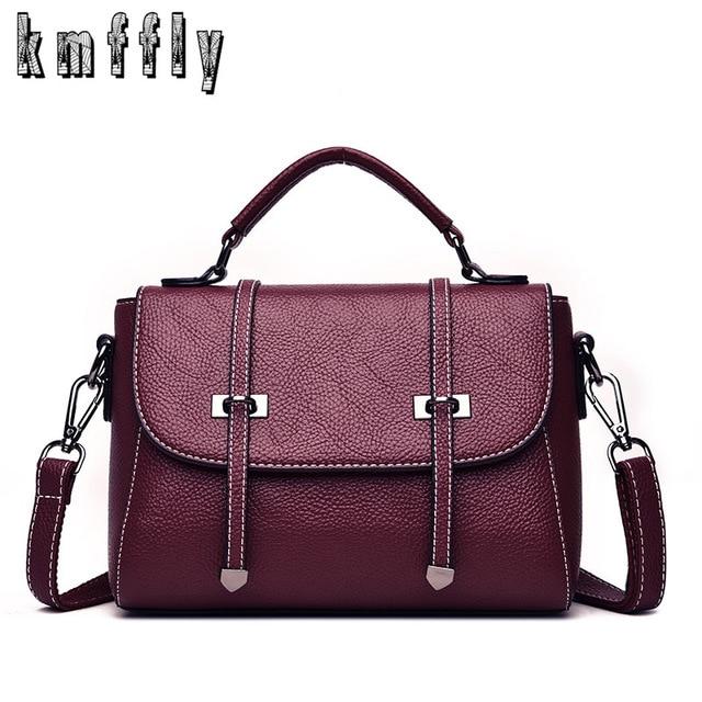 e6a187570b KMFFLY Brand 2018 Women Handbags High Quality Leather Fashion Crossbody Bags  Brand designer Female Shoulder Bag
