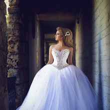 XGGandXRR Ball Gown Wedding Dress 2018 Bridal Gown