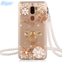 Letv Leeco Cool 1 Case Rhinestone Stand Holder Back Cover For Letv 1 Dual Leeco Coolpad