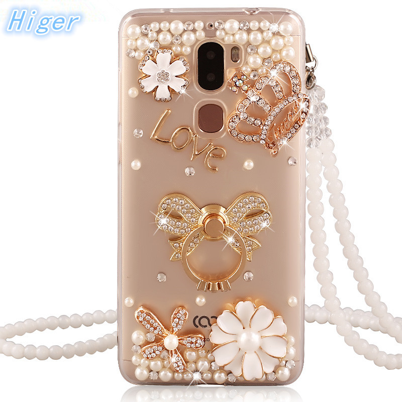 Letv Leeco Cool 1 case rhinestone stand holder back cover for Letv 1 Dual Leeco Coolpad Cool1 case soft silicone phone cases
