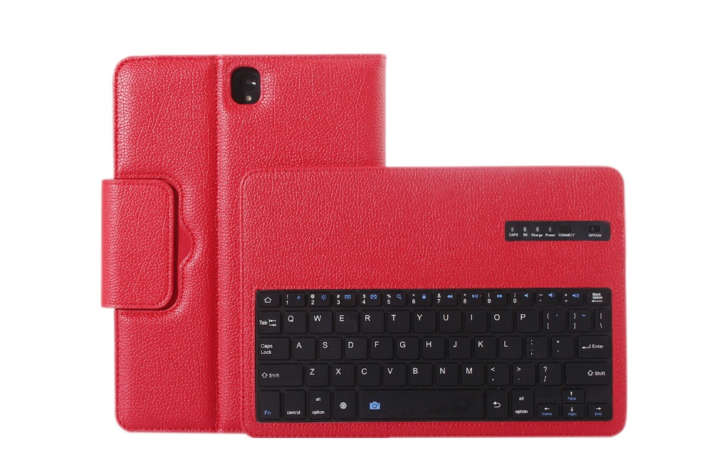 Wireless Bluetooth Keyboard PU Leather Cover Protective Smart Case For Samsung Galaxy Tab S3 T820 T825 9.7 inch Tablet + Gift