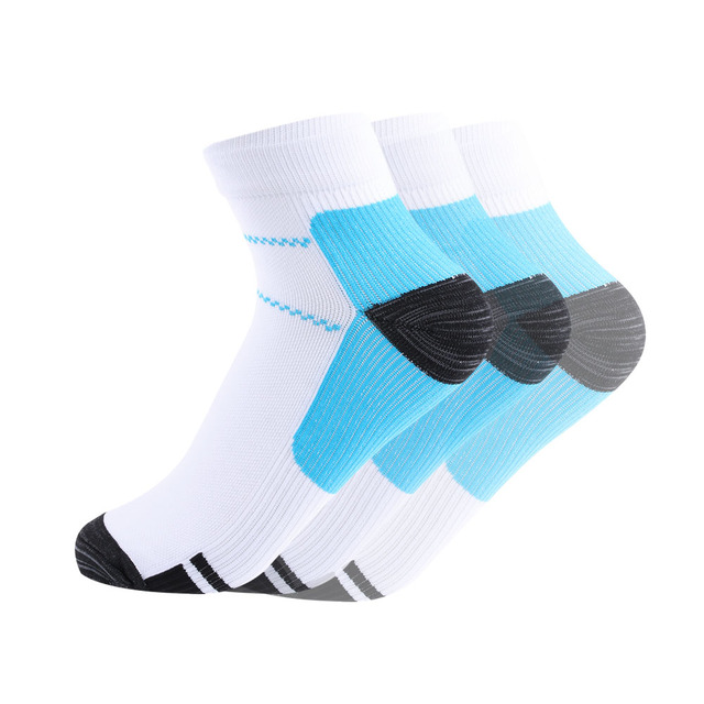 1 Pair High Quality Foot Compression Socks For Plantar Fasciitis Heel Spurs Arch Pain Comfortable Socks Venous New Socks 2