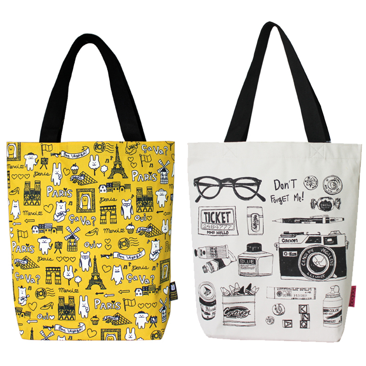 Japanese fashion magazines, wild shopping bag Oxford cloth ...