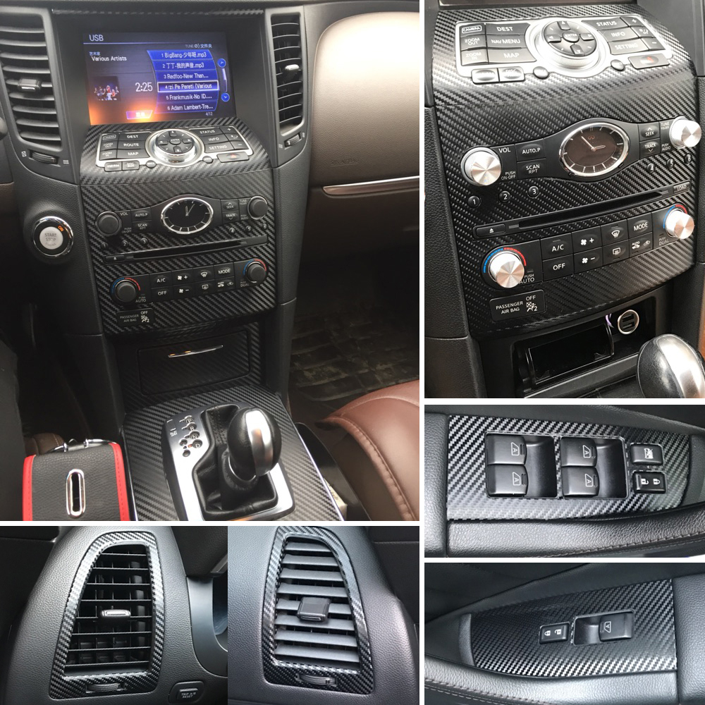 For infiniti qx70 fx35 fx37 interior central control panel - Infiniti fx35 interior accessories ...