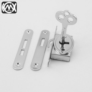 Image 4 - 10pcs KIMXIN spot sales Silver High grade woodenbox lock Jewelrybox hardware accessories Lock for Cigarbox gift box  W 018