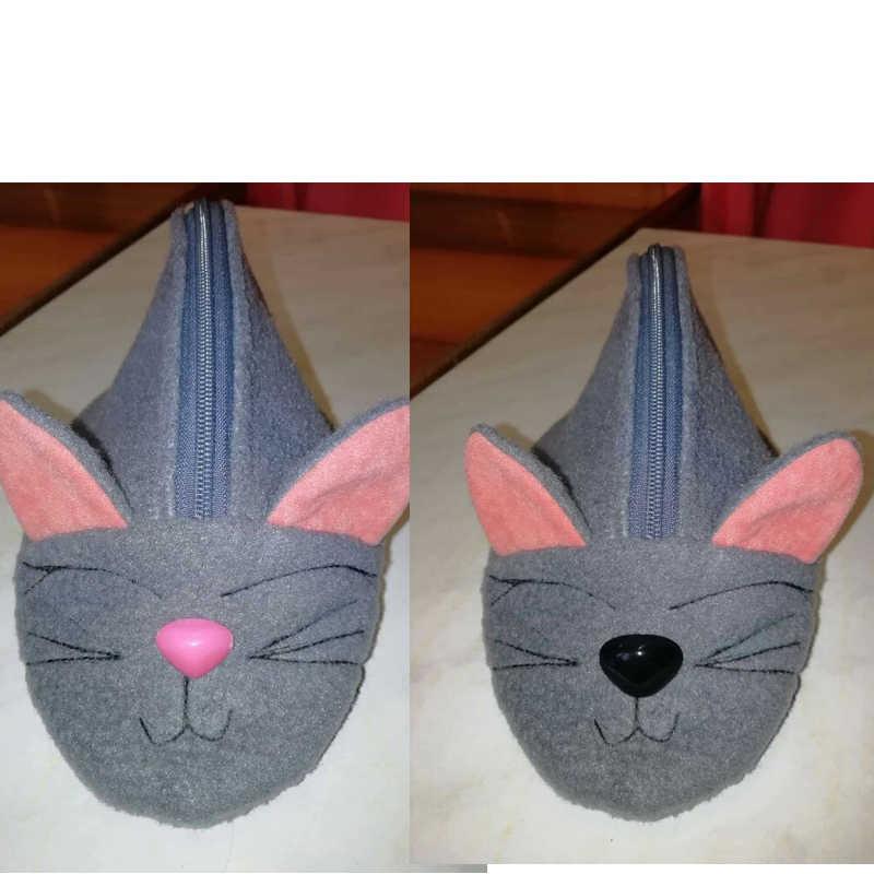 150 шт круглые плоские черные глаза треугольник нос пластиковые глаза для кукол делая игрушки плюшевый медведь, куклы глаза амигуруми делая аксессуары
