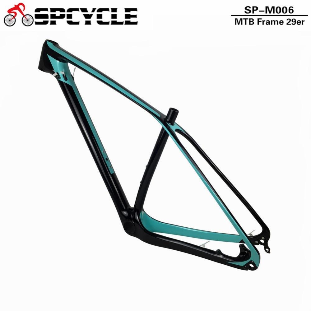 Spcycle 29er 27.5er carbono MTB marco 650B T1000 full carbon ...