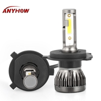 2pcs Mini Size Car Headlamps Bulbs H7 LED Headlight H8 H9 H11 9005 HB3 9006 HB4 Auto LED Light Automobiles Car Styling