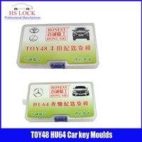 TOY48& HU64 car key moulds for key moulding Car Key Profile Modeling locksmith tools