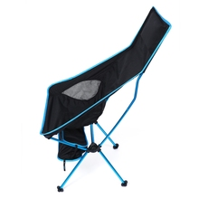 Portable Folding Fishing Chair Detachable Aluminium Alloy 7050 Extended Seat Chair for Camping Hiking Outdoor Activities