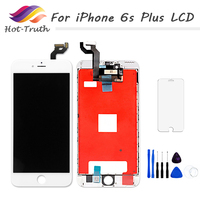 1PCS LCD Display Digitizer Touch Screen For IPhone 6 6Plus 6S 6SPlus Screen Pre Assembled White
