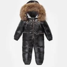 Infant Jacket Snowsuit Girls 80%Duck-Down Boy Baby Boys Winter for Kids Climbing Outdoor