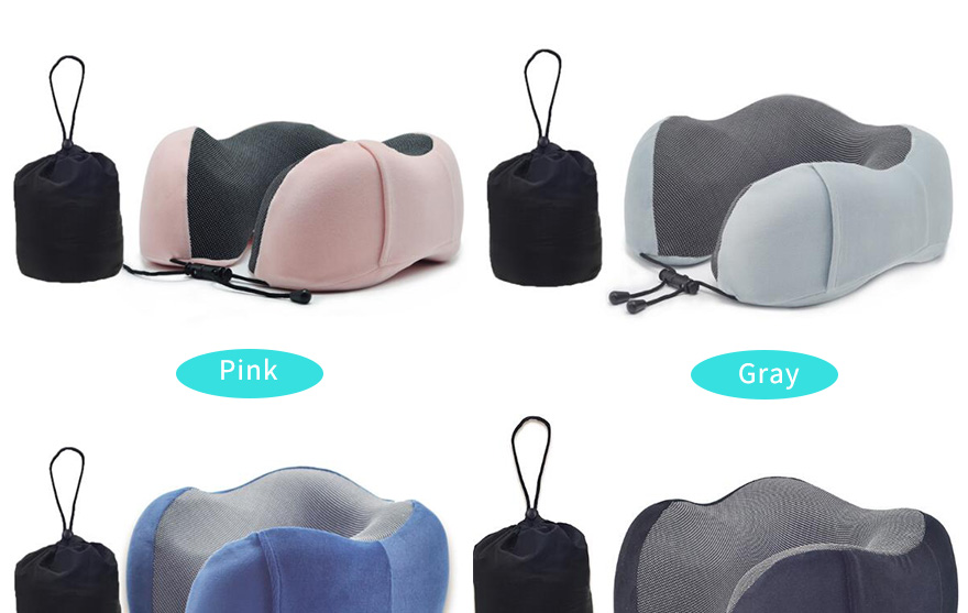 Adjustable-Travel-Pillow-Set-Pure-Memory-Foam-U-shaped-Pillow-AirplaneCarBus-Compact-U-Shaped-Neck-Support-Pillow_04