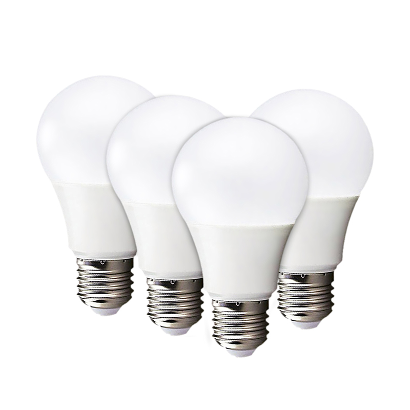 [MingBen] 4pcs LED Bulb Lamp E27 3W 5W 7W 9W 12W 15W 220V Cold White Warm White Lampada LED Smart IC High Brightness Desk Light 2pcs led bulb lamp e27 real power 3w 5w 7w 9w 12w 15w 220v cold white warm white lampada led high brightness ceiling night light