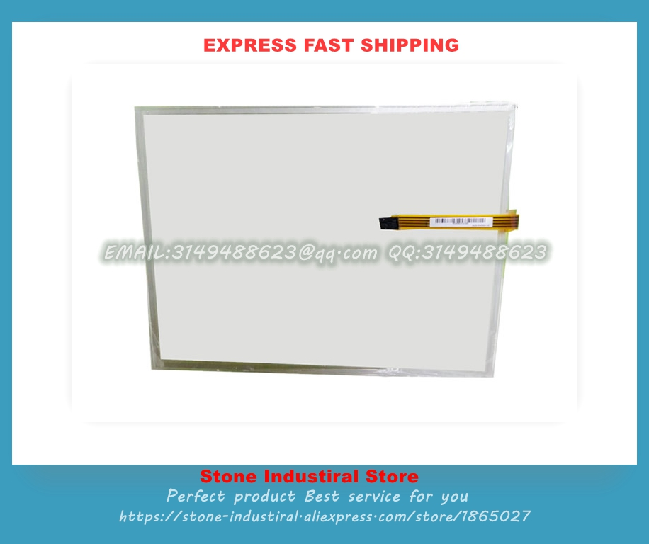 AMT9543 15 Inch 4 Wire Resistive Touchscreens Glass Panel Original amt 9543  цены